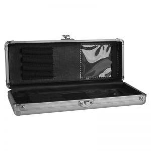 Brush Box aluminio para 8 pinceis Magnetic